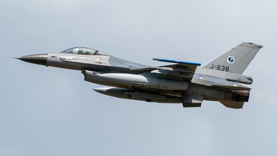 J-638 - General Dynamics F-16AM Fighting Falcon - Netherlands - Royal Air Force