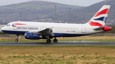 A picture of GEUPN - Airbus A319131 - British Airways - © Andrew McCarron