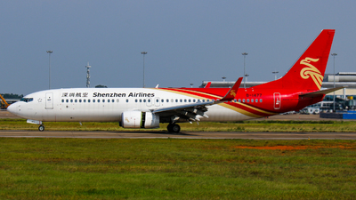 B-1477 - Boeing 737-87L - Shenzhen Airlines