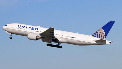 A picture of N783UA - Boeing 777222(ER) - United Airlines - © Christoph Plank
