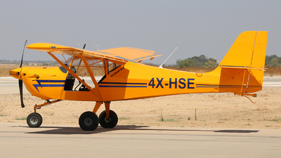 4X-HSE - EuroFox Microlight - Private