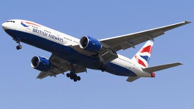 G-VIID - Boeing 777-236(ER) - British Airways
