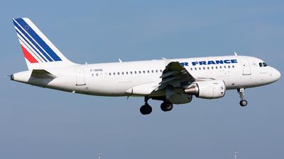 F-GRHD - Airbus A319-111 - Air France