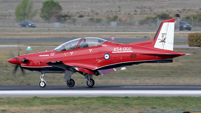 A54-002 - Pilatus PC-21 - Australia - Royal Australian Air Force (RAAF)