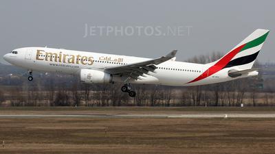 A6-EKV - Airbus A330-243 - Emirates