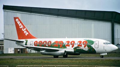 G-BECG - Boeing 737-204(Adv) - easyJet