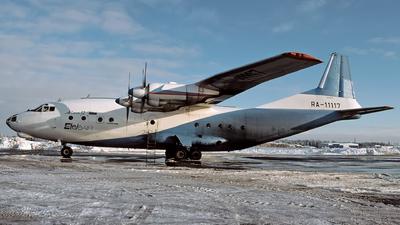 RA-11117 - Antonov An-12B - EteleAir