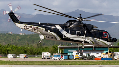 C-FXEC - Sikorsky S-61N - Coulson Aircrane