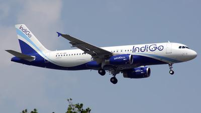 VT-IEK - Airbus A320-232 - IndiGo Airlines