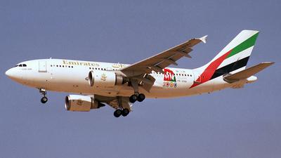 A6-EKB - Airbus A310-304 - Emirates
