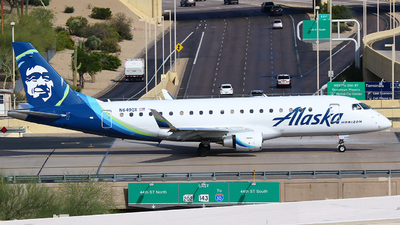 A picture of N649QX - Embraer E175LR - Alaska Airlines - © Zihaoo W & Donny H Photography