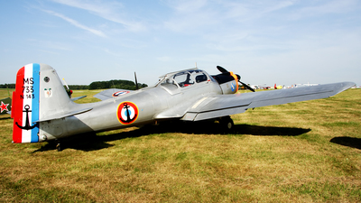 G-MSAL - Morane-Saulnier MS-733 Alcyon - Private