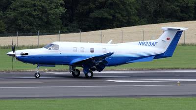 N923AF - Pilatus PC-12 NGX - Pilatus Aircraft