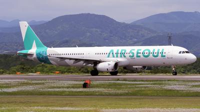 HL8266 - Airbus A321-231 - Air Seoul