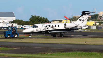 N51JV - Cessna 650 Citation III - AMS Construction