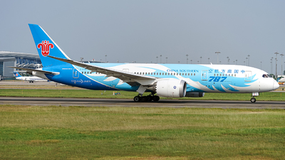 A picture of B2735 - Boeing 7878 Dreamliner - China Southern Airlines - © FIWH