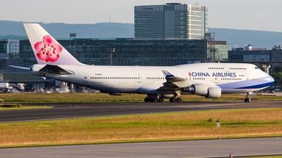 B-18205 - Boeing 747-409 - China Airlines