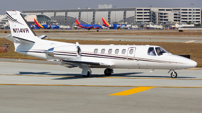 N114VR - Cessna 550B Citation Bravo - Private