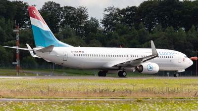 D-AXLK - Boeing 737-86J - Luxair - Luxembourg Airlines
