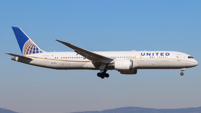 A picture of N26966 - Boeing 7879 Dreamliner - United Airlines - © Justin Stöckel