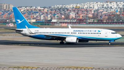 A picture of B1969 - Boeing 73785C - Xiamen Air - © 1219qiuda