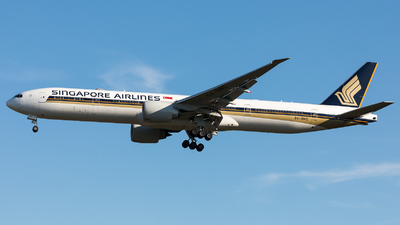 A picture of 9VSNC - Boeing 777312(ER) - Singapore Airlines - © Sierra Aviation Photography