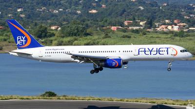 G-FJEA - Boeing 757-23A - Flyjet