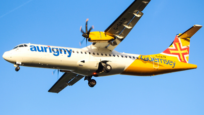G-OATR - ATR 72-212A(600) - Aurigny Air Services