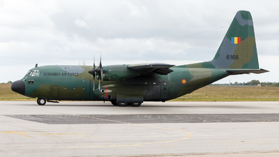 6166 - Lockheed C-130B Hercules - Romania - Air Force