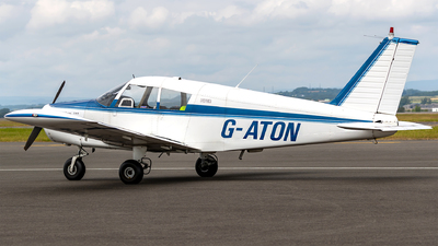 G-ATON - Piper PA-28-140 Cherokee - Private