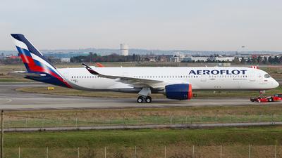 F-WZGT - Airbus A350-941 - Aeroflot
