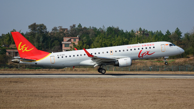 B-3165 - Embraer 190-100LR - GX Airlines