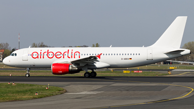 D-ABDX - Airbus A320-214 - Air Berlin