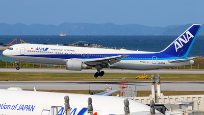 JA605A - Boeing 767-381(ER) - All Nippon Airways (ANA)