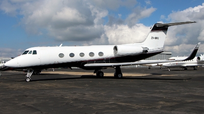 ZS-MMG - Gulfstream G-II(SP) - Private