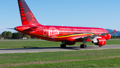 OO-SNA - Airbus A320-214 - Brussels Airlines