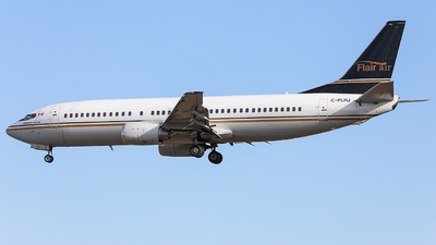 A picture of CFLHJ - Boeing 7374Q8 - Flair Airlines - © CurtisShao233