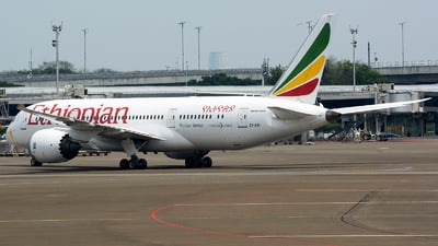 A picture of ETATI - Boeing 7878 Dreamliner - Ethiopian Airlines - © Ridho Maulana