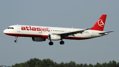 TC-ETJ - Airbus A321-231 - AtlasJet