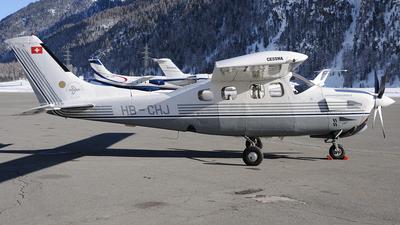 A picture of HBCHJ - Cessna P210N Pressurized Centurion - [P21000522] - © Peter Unmuth