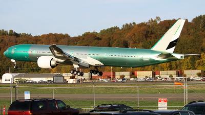 N5573S - Boeing 777-31HER - Boeing Company