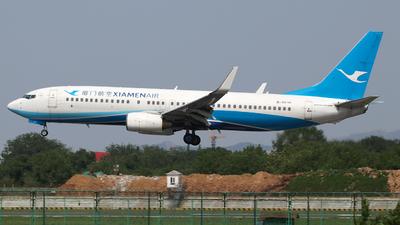 A picture of B5535 - Boeing 73785C - Xiamen Air - © SEN BAI