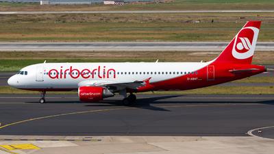 D-ABNT - Airbus A320-214 - Air Berlin