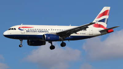 A picture of GEUOG - Airbus A319131 - British Airways - © Ferenc Kolos