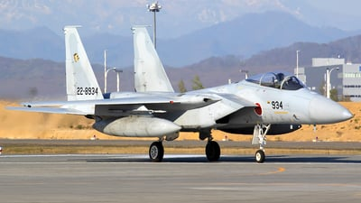 22-8934 - McDonnell Douglas F-15J Eagle - Japan - Air Self Defence Force (JASDF)