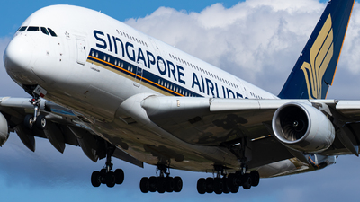 9V-SKN - Airbus A380-841 - Singapore Airlines