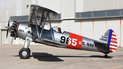 I-GCAR - Boeing A75N1 Stearman - Private