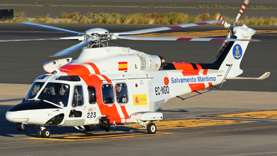 A picture of ECNGO - AgustaWestland AW139 - Babcock MCS Espana - © Alejandro Hern�ndez Le�n