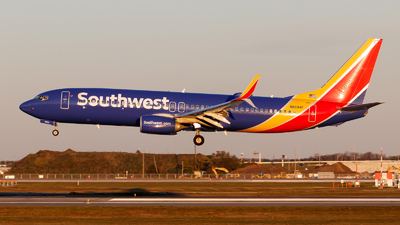 A picture of N8684F - Boeing 7378H4 - Southwest Airlines - © Oliver Richter