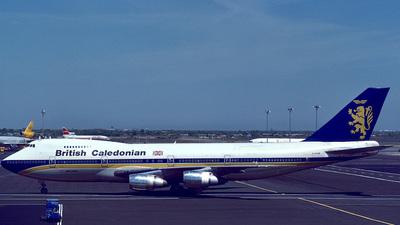 G-HUGE - Boeing 747-2D3B(M) - British Caledonian Airways